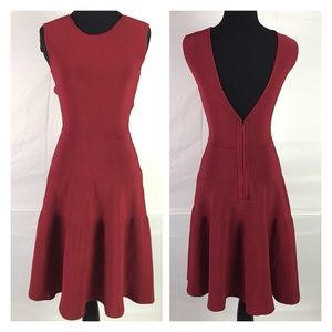 Issa London Stretch Fit and Flare Dress Size Small